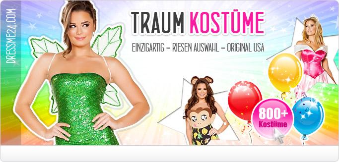 Sexy Kostüme für Fasching & Karneval - Ideal auch für Shows & Promotion!