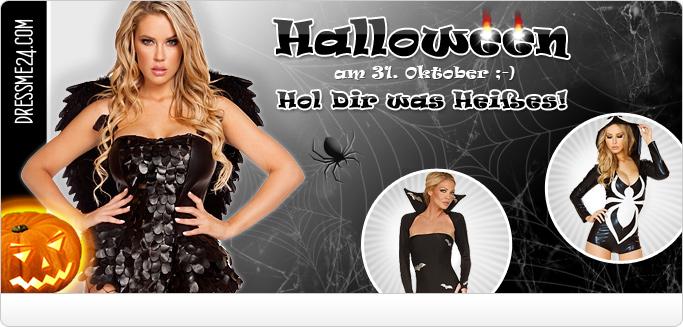 Sexy Halloween Kost�me - Hexen, Vampire, Teufel & mehr ...