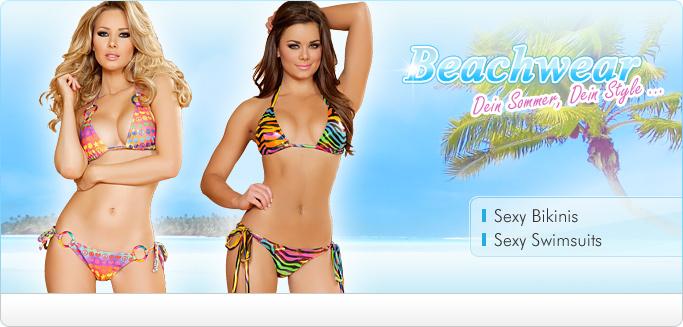 Sexy Beachwear, Bikinis, Swimsuits, Badeanz�ge, Bademode, Triangel Bikini, Strandbikinis