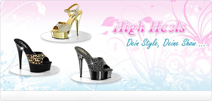 High Heels - Plateau Heels, Glitzer Heels, Leo Heels & mehr ...