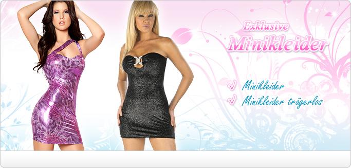 Sexy Minikleider - Partykleider, Paillettenkleider und Cocktailkleider