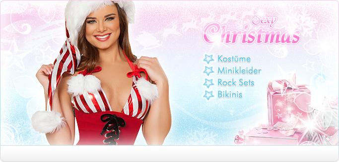 Sexy Weihnachtskost�me & Kuschelige Weihnachtsm�tzen - Jetzt entdecken!