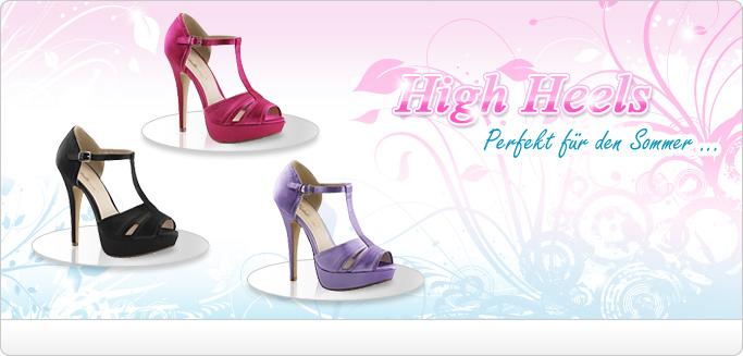Elegante High Heels & Plateau Sandaletten in wundervollen Farben - Einfach perfekt f�r den Sommer!