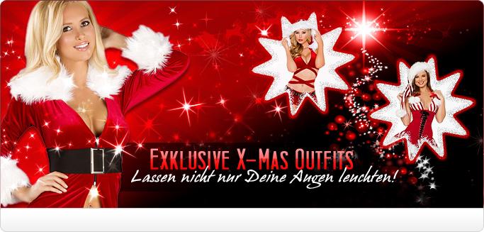 Heiße Weihnachtskostüme & X-mas Outfits lassen nicht nur Deine Augen leuchten!