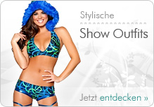 GoGo Outfits - Minikleider, Minirock Sets, Shorty Sets, Chaps, Bikinis f�r Tabledance & Shows