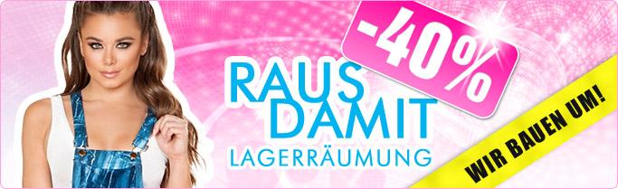 ★ RAUS DAMIT -40% ★ Jetzt 40% Rabatt auf Einzelstücke & Lagerartikel!