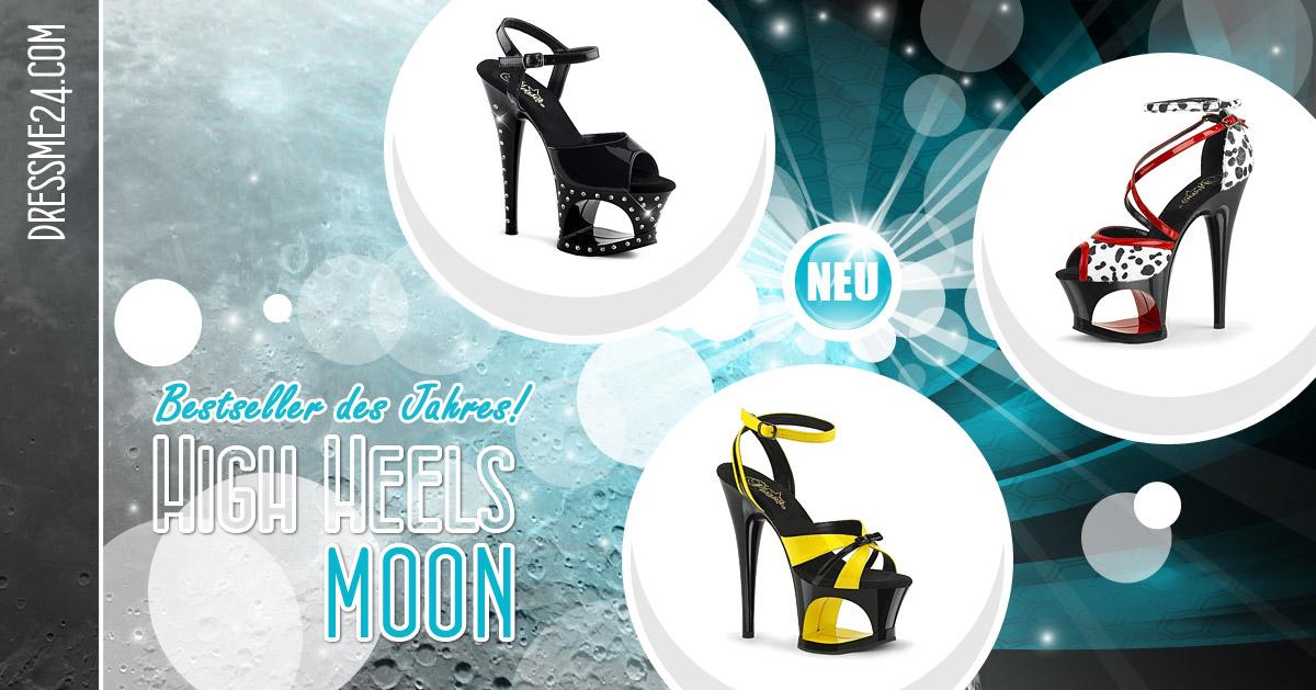 MOON - Aufregende High Heels mit WOW-Effekt, die Bestseller des Jahres ❤
