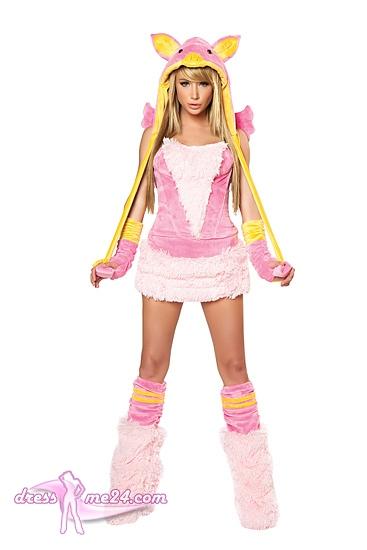 corsage minirock miss piggy kost m rosa schweinchen kost m art nr cs142. Black Bedroom Furniture Sets. Home Design Ideas
