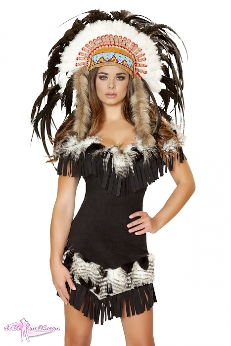 indianer kost m cherokee princess f r fasching shows. Black Bedroom Furniture Sets. Home Design Ideas
