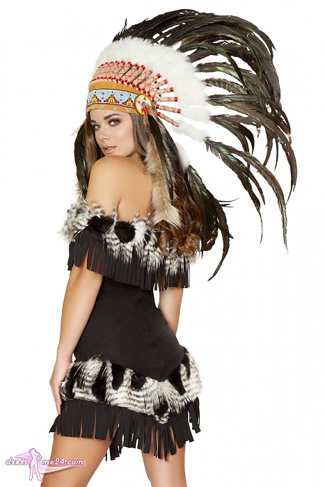 indianer kost m cherokee princess f r fasching shows art nr 4470. Black Bedroom Furniture Sets. Home Design Ideas