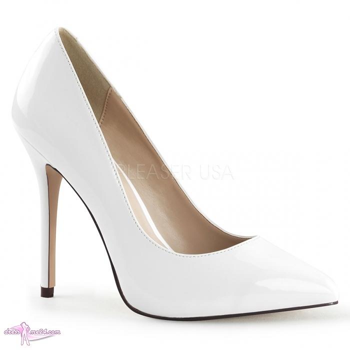 lack pumps amuse 20 wei shoes pumps high heels mit plateau 12 art nr 19004. Black Bedroom Furniture Sets. Home Design Ideas