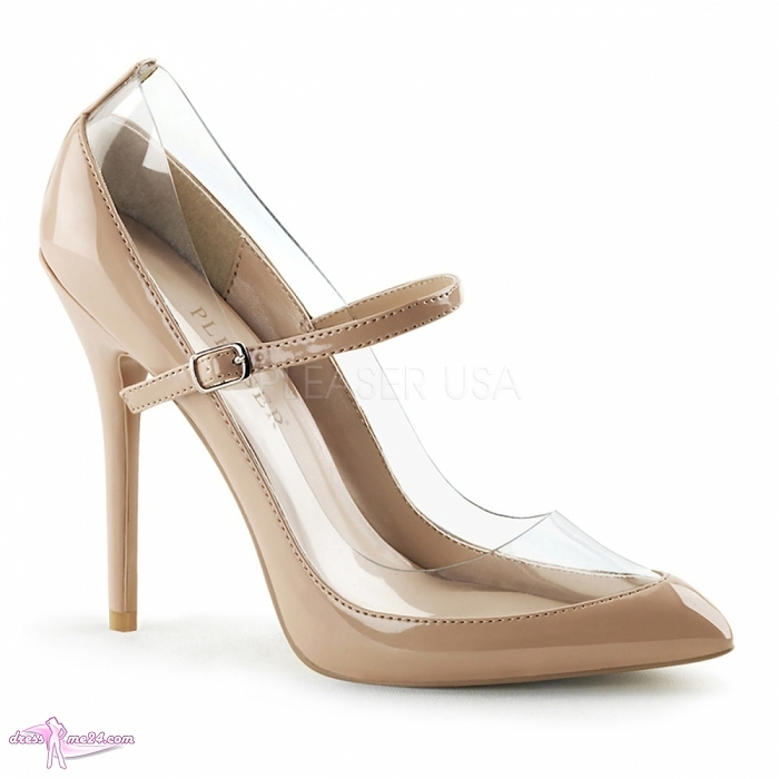 lack pumps amuse 21 beige shoes pumps high heels mit. Black Bedroom Furniture Sets. Home Design Ideas