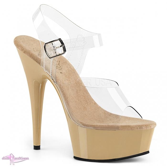 a2acc29d21669 Plateau High Heels Delight-608 beige - Heels, High Heels | Art.Nr ...
