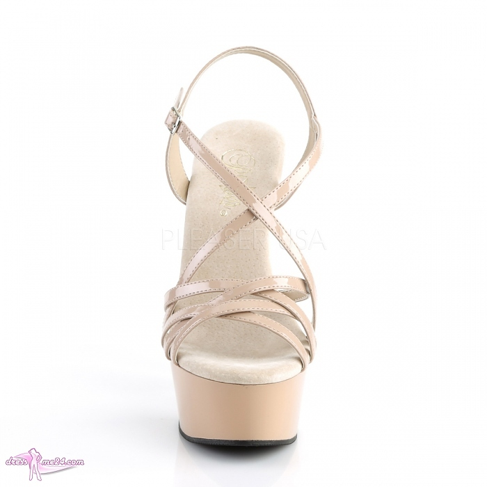 1f4c23b32dd4b Plateau High Heels Delight-613 creme - Heels, High Heels | Art.Nr ...