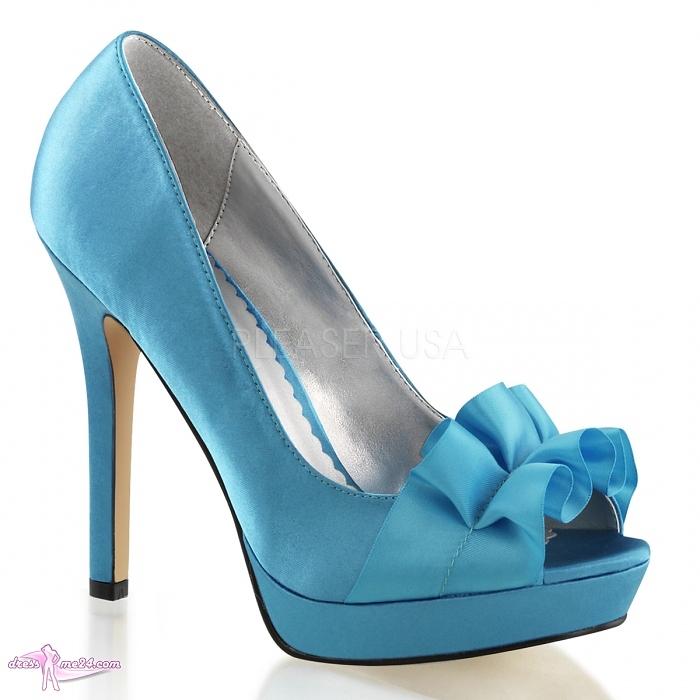 plateau pumps lumina 42 blau shoes pumps high heels mit plateau art nr 18347. Black Bedroom Furniture Sets. Home Design Ideas