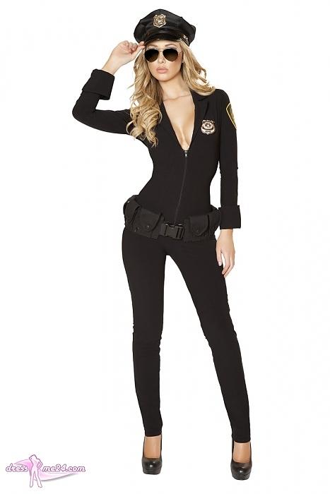 Polizei Kostum Anzug Overall Fur Fasching Shows Art Nr 4503r