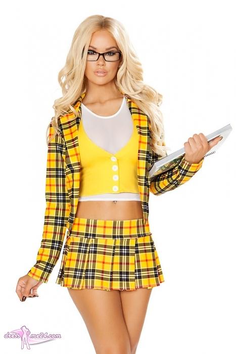 Schulmädchen-Kostüm