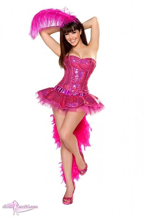 Sexy Flamingo Kostum Tierkostume Fur Fasching Art Nr 4328r
