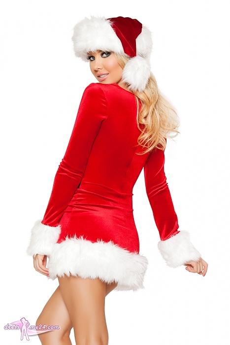 weihnachtskost m sexy santa kost me f r weihnachten. Black Bedroom Furniture Sets. Home Design Ideas