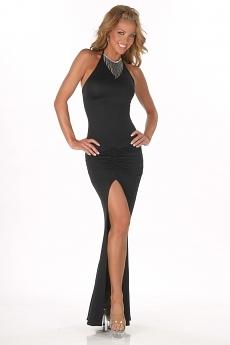 Abendkleid Anna - schwarz