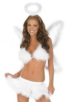 Angel Top & Skirt - Engel Kostüm