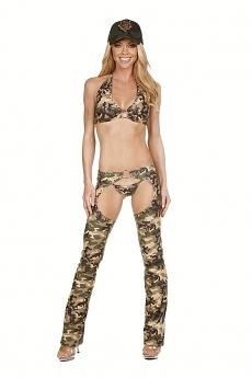 Army Girl Chaps