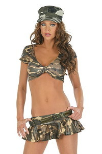 Army Top & Skirt No.2
