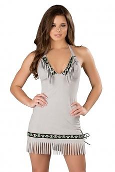 Eskimo Indianer Kostüm Kleid