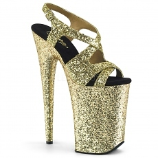 Extreme Plateau High Heels Infinity-930LG gold