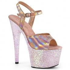 Glitter Plateau Sandalette Adore-709HGG
