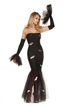 Halloween Kleid - Madame Fledermaus No.2