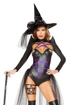 Hexen Kostüm Dark Witch