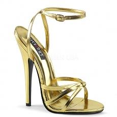 High Heels Domina-108 gold