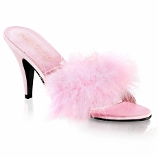 High Heels Pantolette Amour-03 baby pink