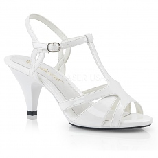 High Heels Sandalette Belle-322 weiß
