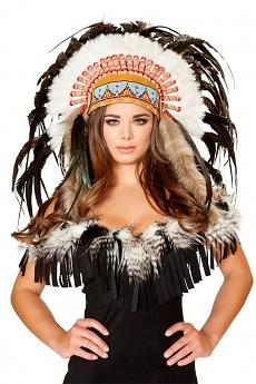 Indianer Kopfschmuck Deluxe