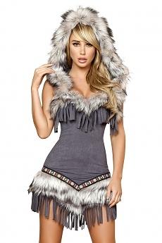 Indianer Kostüm - Native American Lady