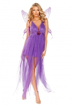 Lila Fee Kostüm - Feenkostüm