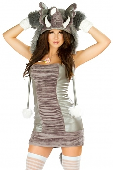 Minikleid - Elefanten Kostüm - JValentine USA