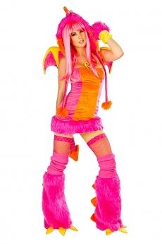 Pink Drachen Kostüm -  JValentine USA