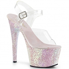 Plateau High Heels Adore-708LG baby pink