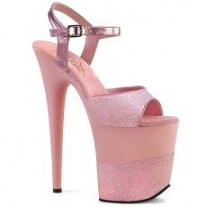 Plateau High Heels Flamingo-809-2G baby pink