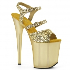 Plateau High Heels Flamingo-874 gold