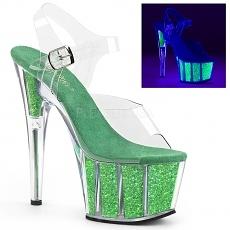 Pole Dance Heels Adore-708UVG neon grün