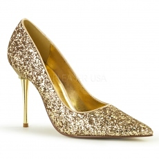 Pumps Appeal-20G Glitter gold