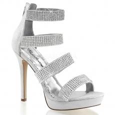 Sandalette Lumina-30 silber