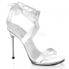 Schnür Sandalette Chic-14 weiß