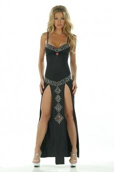 Sexy Abendkleid Liv - schwarz
