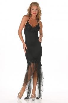 Sexy Abendkleid Sylvie weiss
