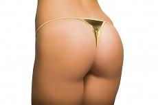 Sexy Micro Tanga gold